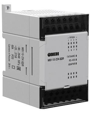 Модуль ввода-вывода МВ110-8ДФ  ОВЕН